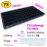 Tray Semai 72 Lubang