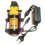 Pompa 12V 100psi High Pressure plus Adaptor