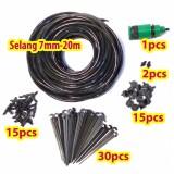 Paket DIY Irigasi Selang-7mm 15-drip
