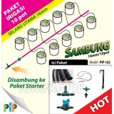 Paket Dripstick 16mm-10pot Sambung