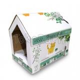 Rumah Kucing Scratch Cat House