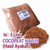 Cocopeat Halus Ayakan 5-Liter