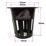 Netpot 5cm Bolong Hitam