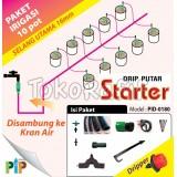 Paket Drip Putar 16mm -10pot