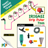 Paket Drip Putar 7mm-10pot