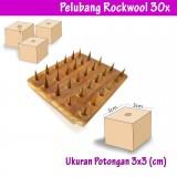 Pelubang Rockwool 30 Titik